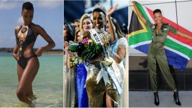 Zozibini Tunzi is Miss Universe 2019, Here Are Some Beautiful Pictures of The South African Beauty Queen